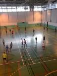 L'équipe de badminton de l'association sportive du LGM se prépare aux départementales !