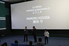 rencontre avec Mamoru Hosoda – cav LGM. Merci au cinéma Le Meliès